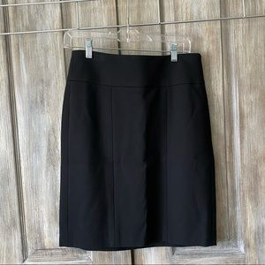 CAbi Black stretch pencil skirt style #225